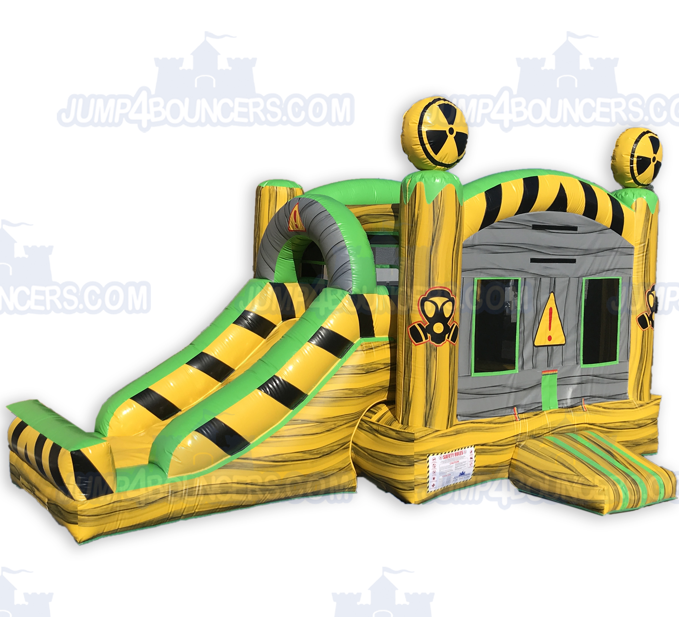 Dco2131 Toxic Jump And Slide Combo Jumpers For Sale In